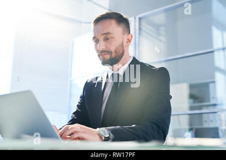 Elegant office worker - Stock Image