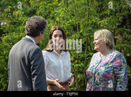 RHS Chelsea Flower Show,Press Day,world renowned,rhs,RHS,flower show,glamourous,fun,educational,day out,flower show,flowers,flower,celebrities,celebri - Stock Image