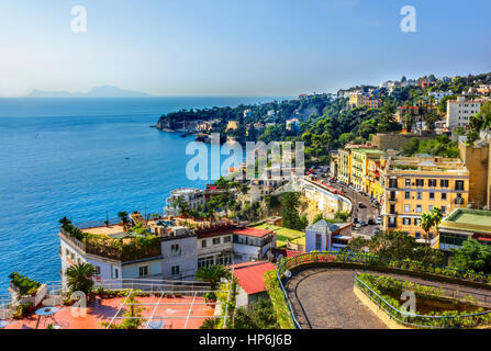 Views of the Neaples Coast, Positano, Ravello, Maiori, Amalfi - Stock Image