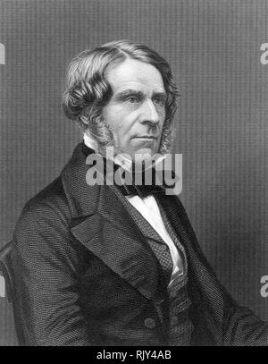 ROBERT CHRISTISON (1797-1882) Scottish physician and toxicologist - Stock Image