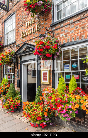 The Eagle inn, in Old Amersham, Buckinghamshire, England - Stock Image
