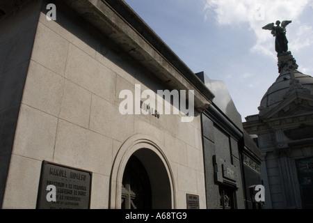 Hidalgo Tomb (Recoleta) - Stock Image