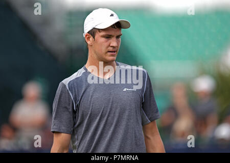 Jonathan Gray, professional male tennis player from the United Kingdom. - Stock Image