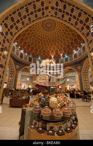 Hediard Cafe at Dubai Ibn Battuta Mall, Dubai, United Arab Eimirates - Stock Image