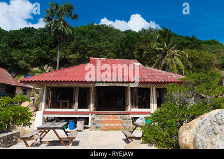 Lighthouse Restaurant In Phangan island, Thailand - Stock Image