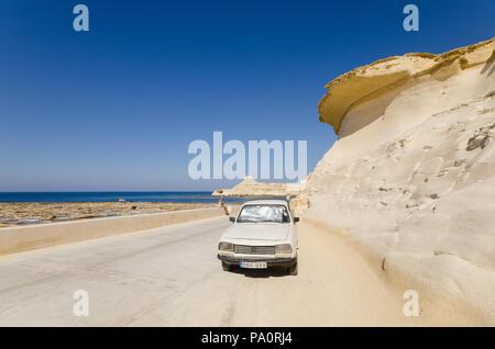Landscape of Gozo Island - Stock Image