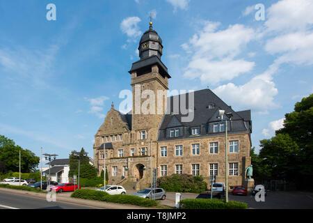 Deutschland, Nordrhein-Westfalen, Wetter (Ruhr), Rathaus - Stock Image