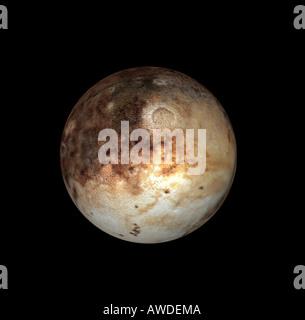 dwarf planet Pluto - Stock Image