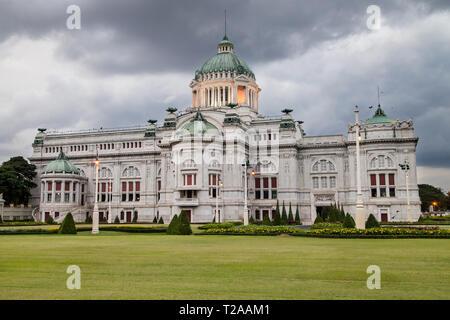 Ananta Samakhom Throne Hall, Dusit Palace, Bangkok, Thailand. - Stock Image