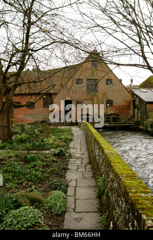 Winchester City Mill on the River Itchen, Winchester, Hampshire, UK - Stock Image