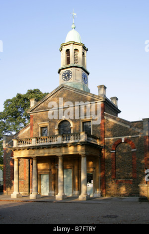 The Parish Church of Saint Anne, Diocese of Southwark, Kew Green, Kew, West London, UK - Stock Image