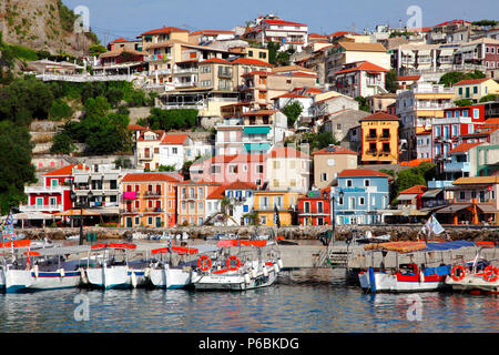 Greece, Epirus Region (Preveza district) , Parga - Stock Image