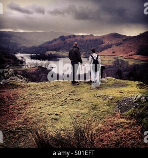 Brother's Adventure - Stock Image