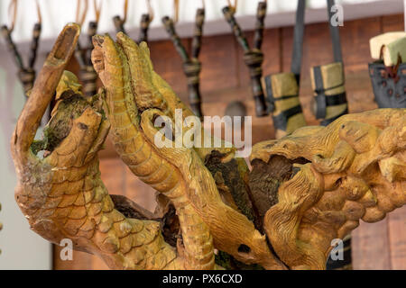 wooden material handcrafted in Saudi Arabia - Stock Image