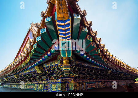 Detail of Summer Palace in Beijing, China - Stock Image
