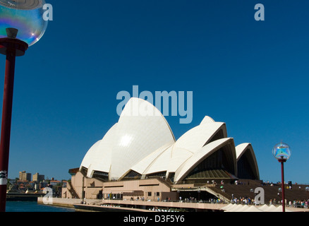 Sydney Opera House New South Wales Australia - Stock Image