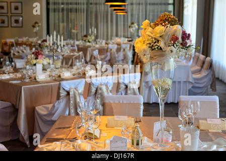 Wedding preparation - Stock Image