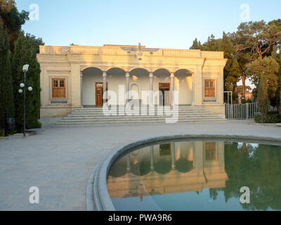 Zoroastrian fire temple, Yazd, Iran - Stock Image