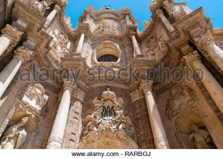 Saint Mary of Valencia Cathedral, Valencia, Spain - Stock Image