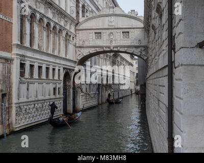 Venice, Italy, in winter - Stock Image