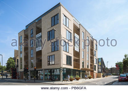 Isabella Apartments, Lewisham - Stock Image