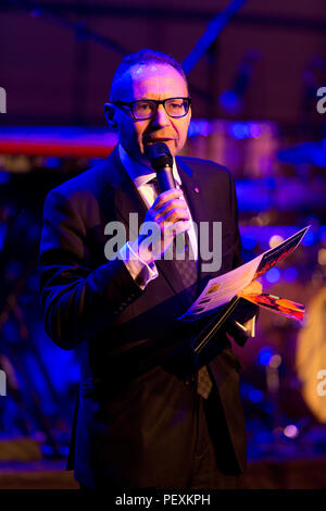 Jonathan Shalit hosting An Evening with Chickenshed at ITV Studios - Stock Image