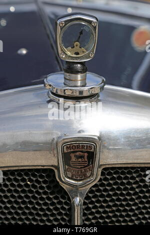 Morris Cowley Four (1934), British Marques Day, 28 April 2019, Brooklands Museum, Weybridge, Surrey, England, Great Britain, UK, Europe - Stock Image