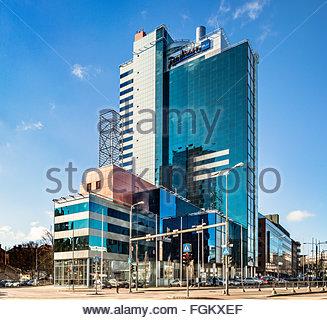 Radisson Blu hotel in Tallinn, Estonia, Künnapu&Padrik architects - Stock Image