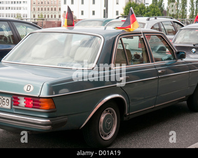 Mercedes Benz car in Germany - Stock Image