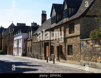 Real Tennis Club, Oxford University Tennis Club, Merton Street, Oxford, Oxfordshire, UK. - Stock Image
