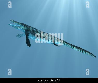 Dinosaurier Tylosaurus progier / dinosaur Tylosaurus proriger - Stock Image