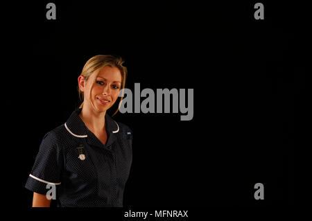 Staff nurse   Ref: CRB425_10046_096  Compulsory Credit: Synercomm/Photoshot - Stock Image