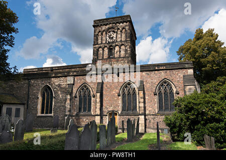 St Nicholas Church, the oldest church in Leicester dating back to Anglo-Saxon times, Leicester, England, UK - Stock Image