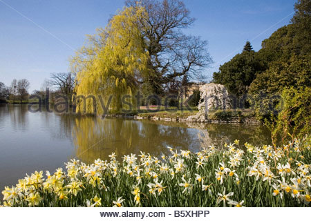 SPETCHLEY PARK GARDENS WORCESTERSHIRE - Stock Image
