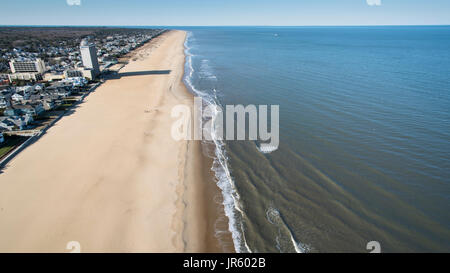Virginia Beach Oceanfront - Stock Image
