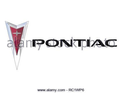 Pontiac logo - Stock Image