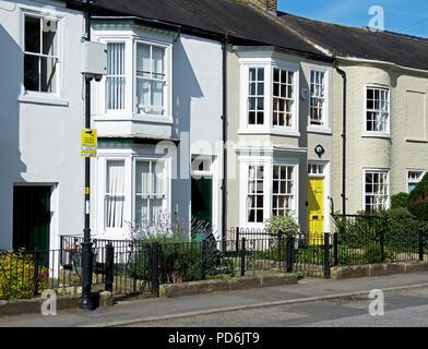 Street in Stokesley, Hambleton, North Yorkshire, England UK - Stock Image