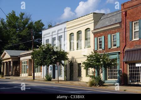 North Churton street, Hillsborough, NC, North Carolina. - Stock Image