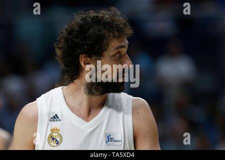 Real Madrid Vs Valencia Basket League Match    21-05-19 Madrid, Spain  Cordon Press - Stock Image