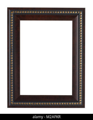 black picture frame - Stock Image