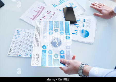 Learning business goals - Stock Image