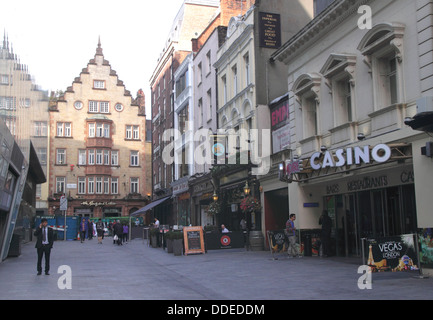 Leicester Street off Leicester Square London - Stock Image