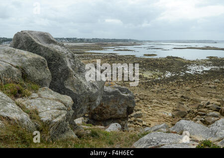 Coast of Brittany, France - Stock Image