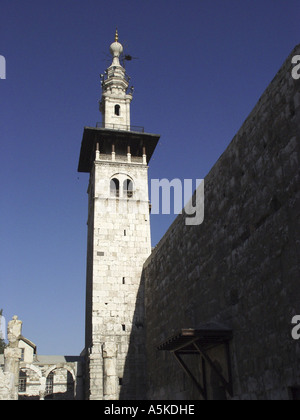 Omayyaden mosque in damascus - Stock Image