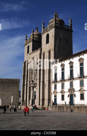 Se Cathedral, Oporto, Portugal - Stock Image