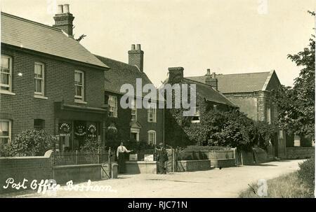 Post Office, Bosham, Chichester, West Sussex. - Stock Image