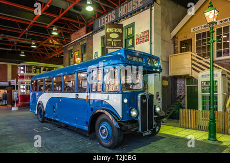 Hull,Streetlife Museum,Vintage Coach,Signal Box,Hull - Stock Image