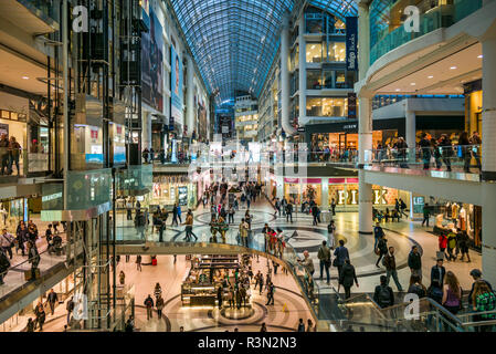 Canada, Ontario, Toronto, Eaton Centre shopping mall - Stock Image