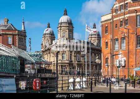 City Centre,Maritime Museum,Princes Quay,Shopping Centre,Kingston upon Hull,England - Stock Image
