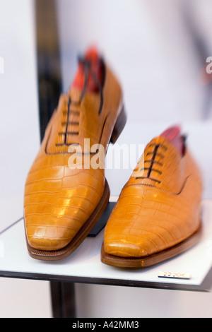 Paris France Testoni shoes Rue royale 15 - Stock Image